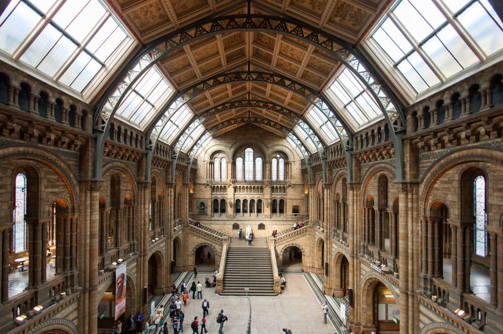 Foyer Museum London : Natural history museum london
