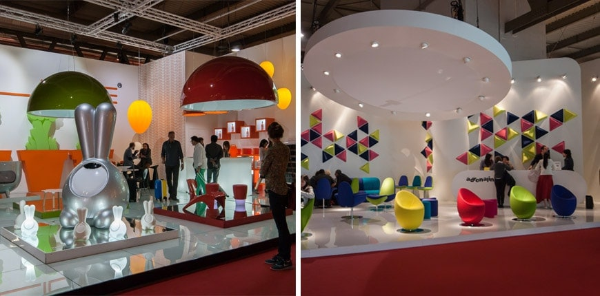Postcards From The 2014 Milan Furniture Fair Fair Stands