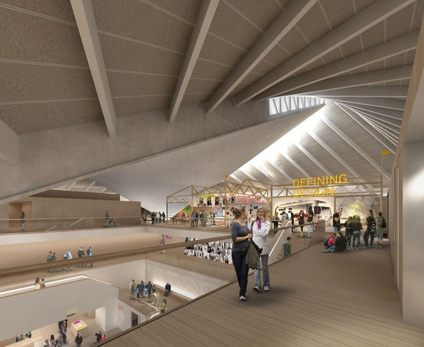 London the new design museum in kensington inexhibit for Oma design museum