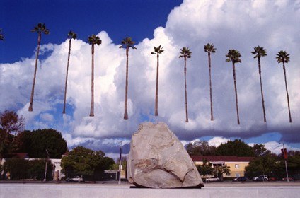 Levitated Mass (of Trees)