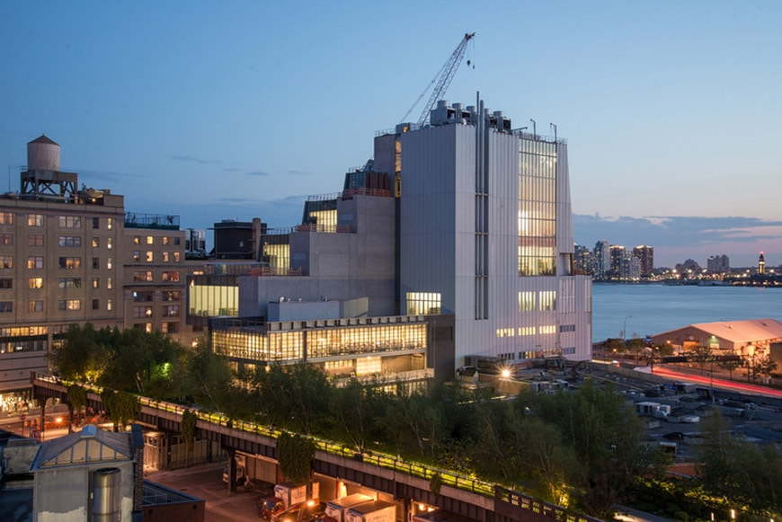 new york the whitney museum new home by renzo piano