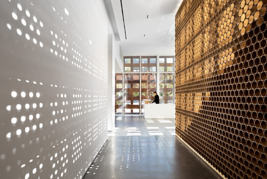 shigeru ban 39 s new aspen art museum. Black Bedroom Furniture Sets. Home Design Ideas