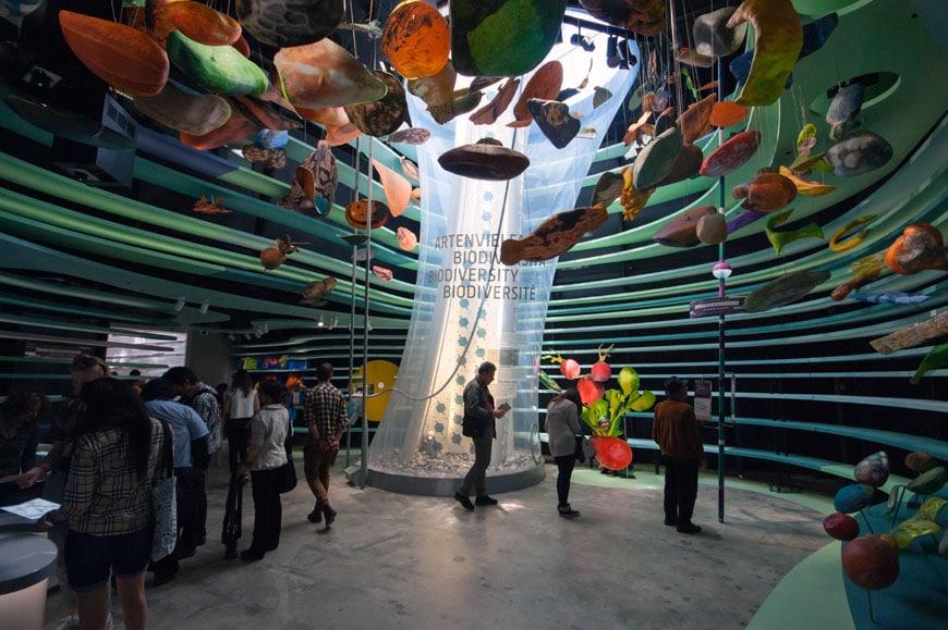 Milan Expo 2015 The German Pavilion Quot Fields Of Ideas Quot