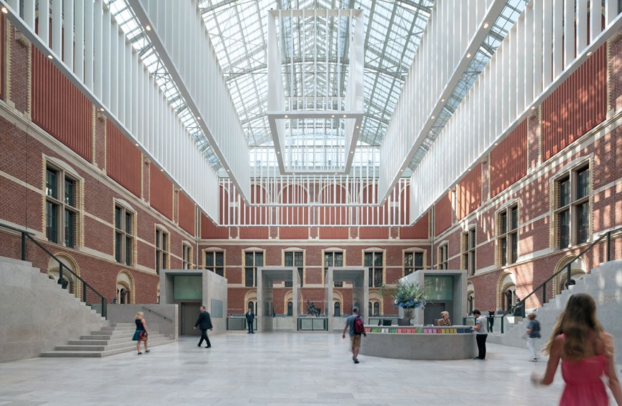 New rijksmuseum openbuildings for Interieur architect amsterdam