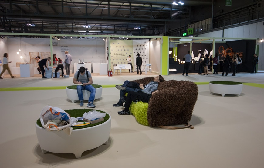 Pictures from the 2015 milan furniture fair salone mobile for Salone satellite