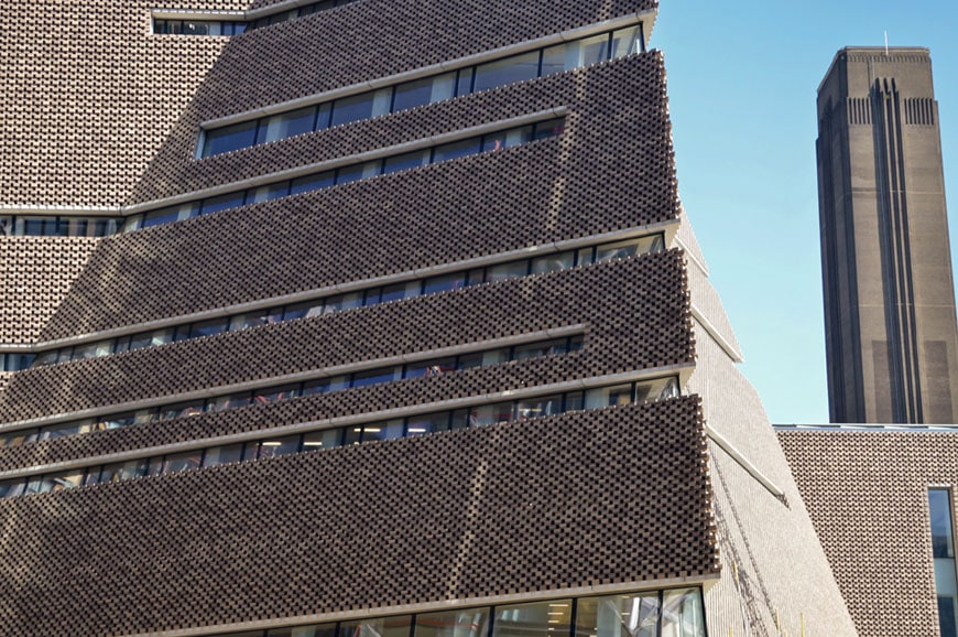 London new tate modern 2016 by herzog de meuron for Switch house tate modern architecture