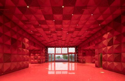 Ragnarock Roskilde – the golden museum of rock by MVRDV and COBE