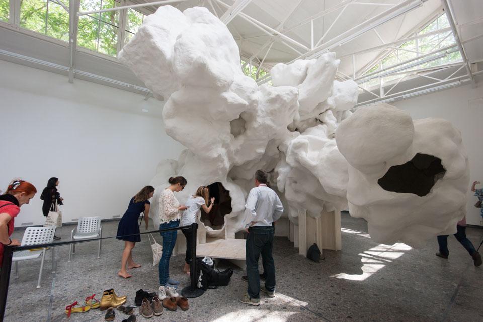 Alien geode by christian kerez investigates architecture 39 s for Biennale venezia 2016