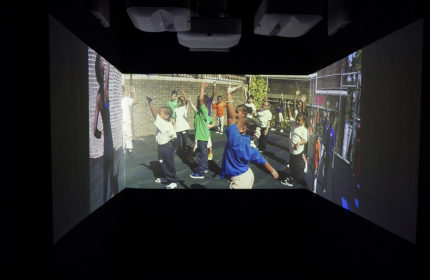 """ACTIVE VOICE   Installation at """"Time Space Existence"""" exhibition"""