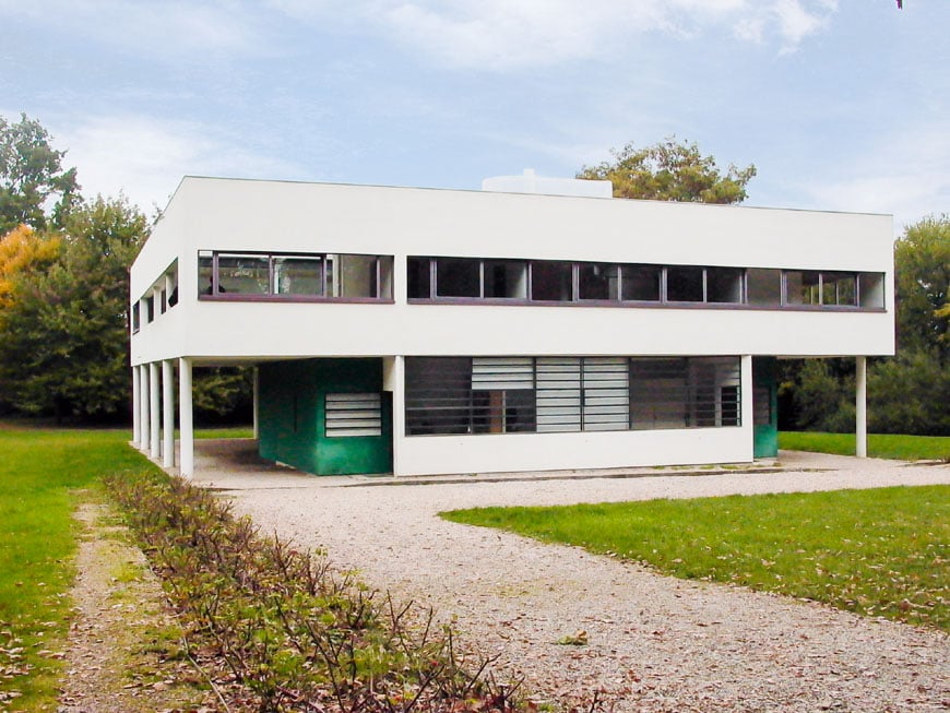 Le Corbusier Villa Savoye Part 1 History on small apartment building