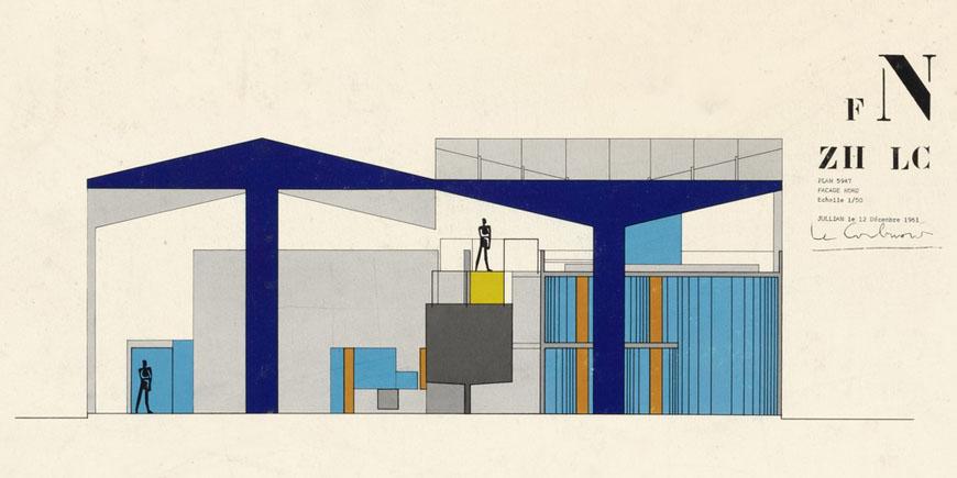Le Corbusier Building Designs