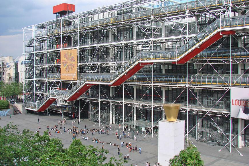 Centre Pompidou Parigi 08