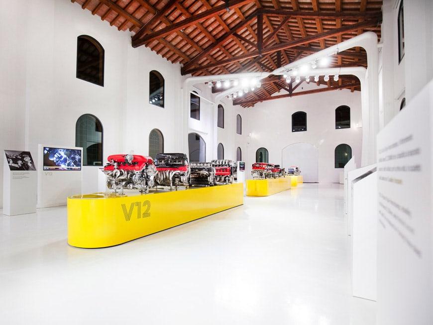 Enzo Ferrari Gallery Modena museum 2019