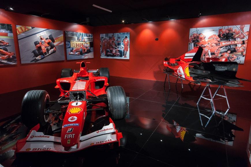 Michael-Schumacher-Ferrari-F1-car-Automobile-Museum-Turin