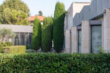 Chagall museum garden 05