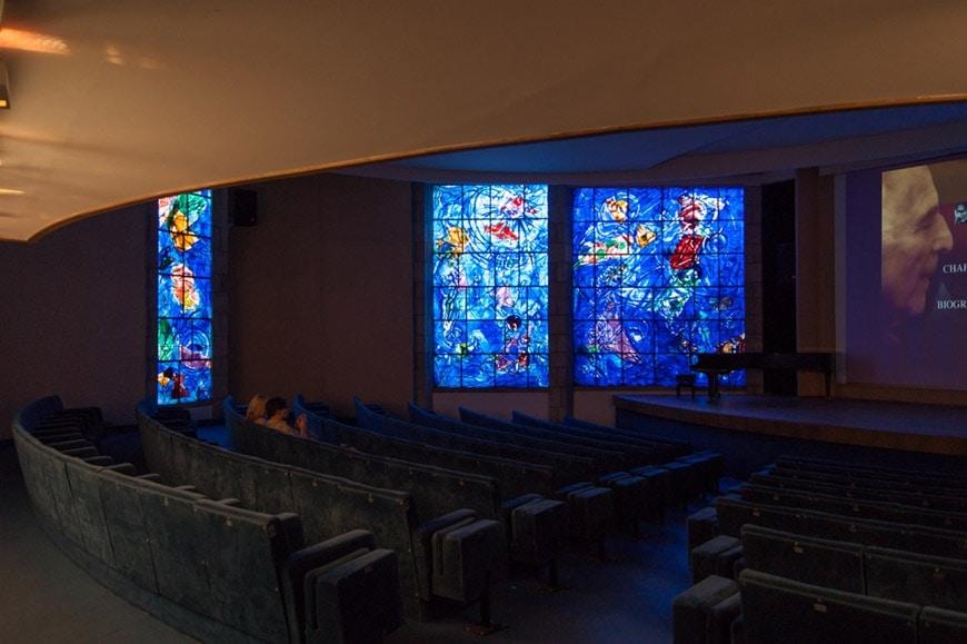 Musee Chagall Nice Auditorium