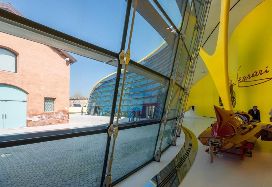 Museo-Enzo-Ferrari-automobile-museum-Modena-Future-Systems