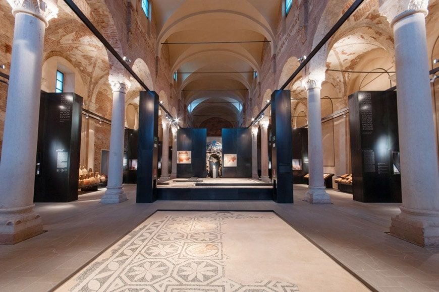 Archarological Museum of Cremona, Lombardy, Italy