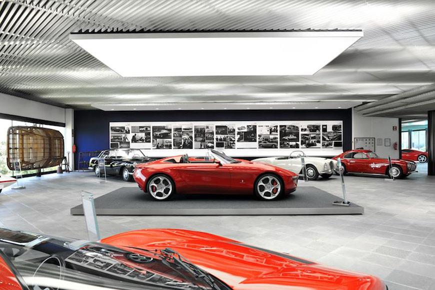 Pininfarina Museum Cambiano Turin