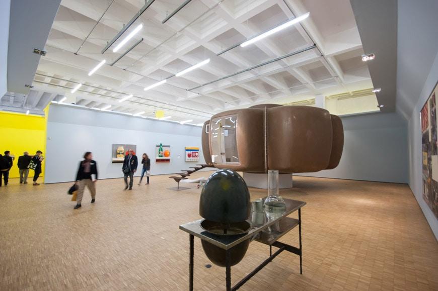 Triennale-Design-Museum-exhibition-arts & foods-Jean-Maneval-maison-Bulle-foto-Inexhibit