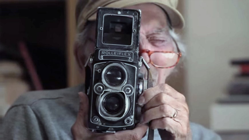 Andre Villers Rolleiflex camera