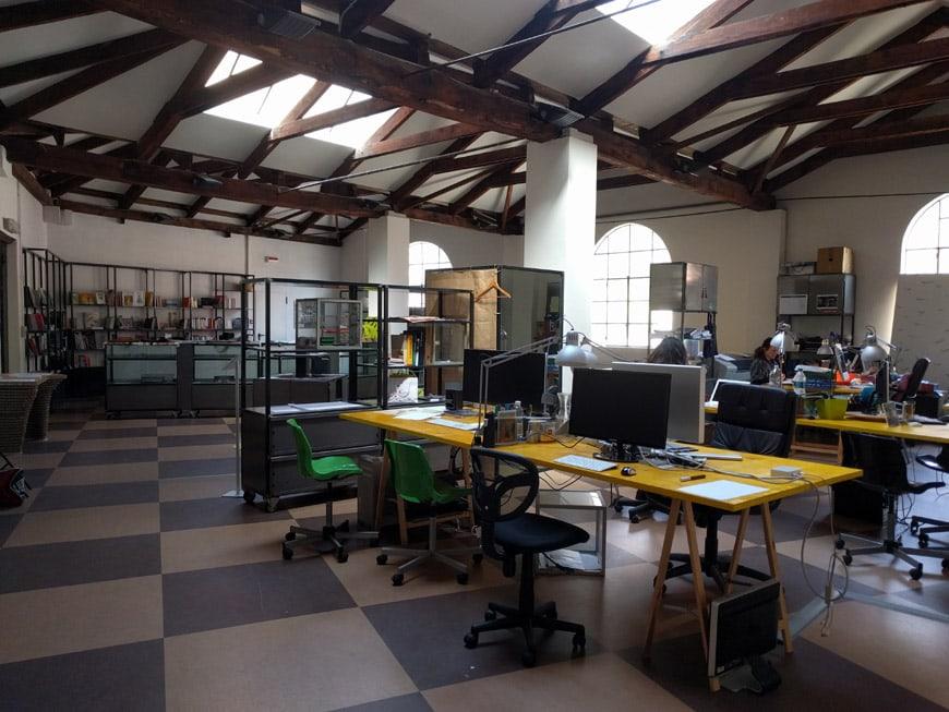 Cittadellarte Fondazione Michelangelo Pistoletto Biella Italy coworking space