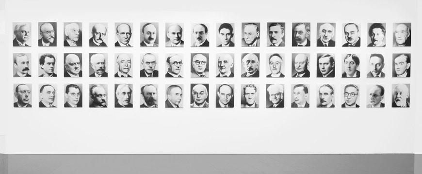 Gerhard Richter 48 portraits photograph MACBA Barcelona collection