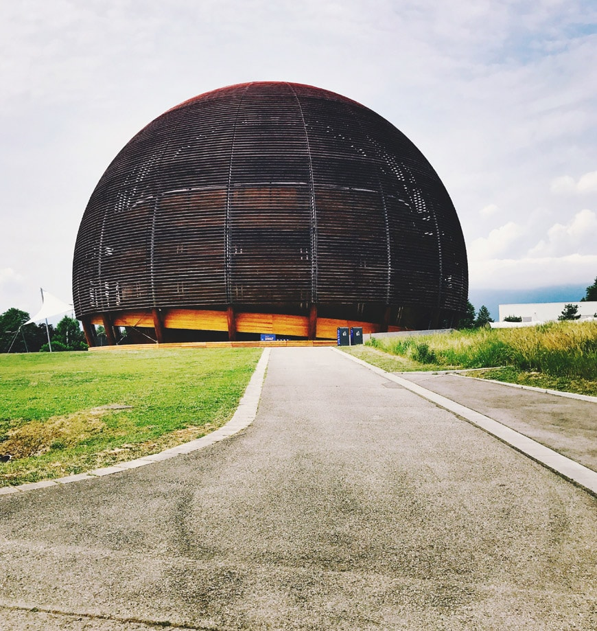 Globe Science Innovation timber pavilion CERN exterior 4