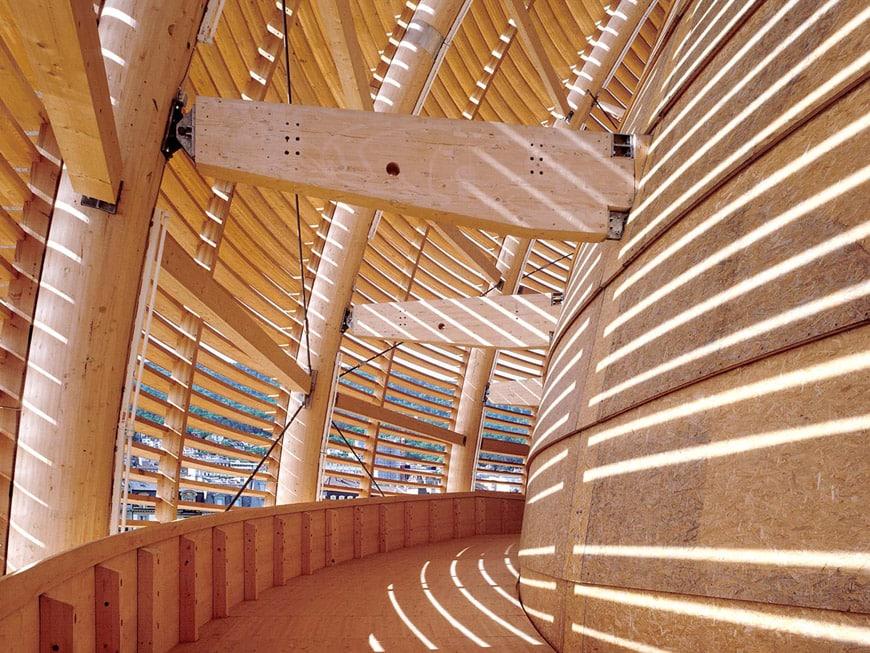 Globe Science Innovation timber pavilion CERN structure