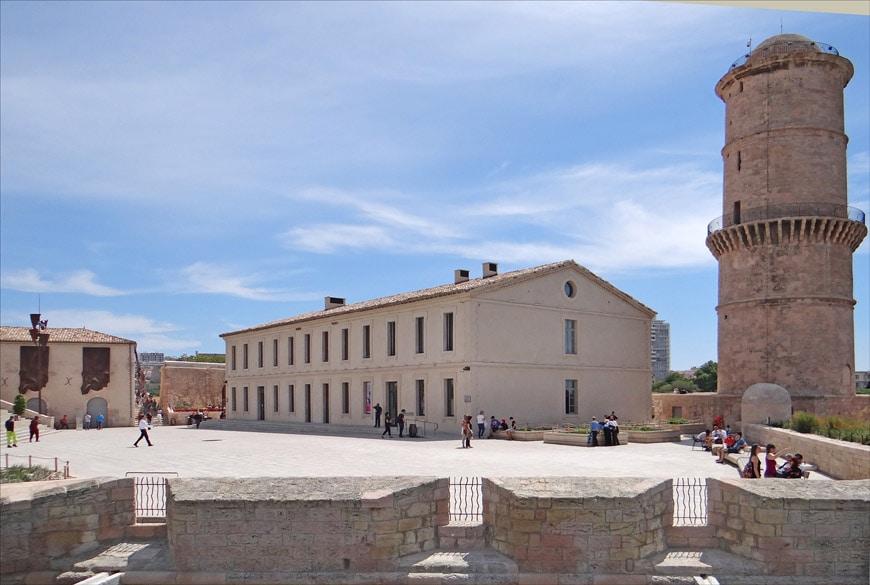 MUCEM museum Marseille Fort Saint-Jean 1