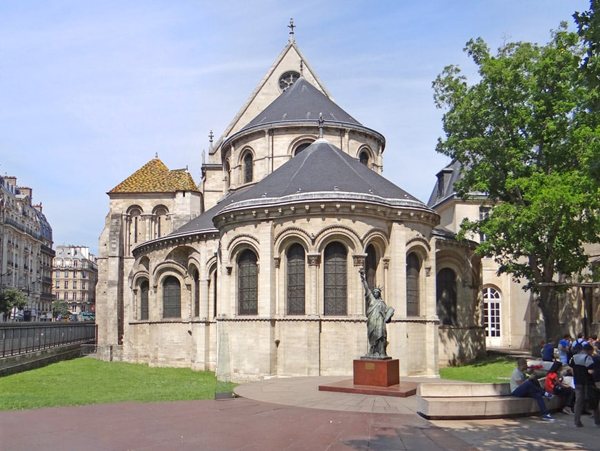 Musée Arts Métiers Parigi chiesa di Saint-Martin-des-Champs