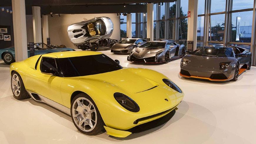 Museo Lamborghini Sant'Agata Bolognese 4