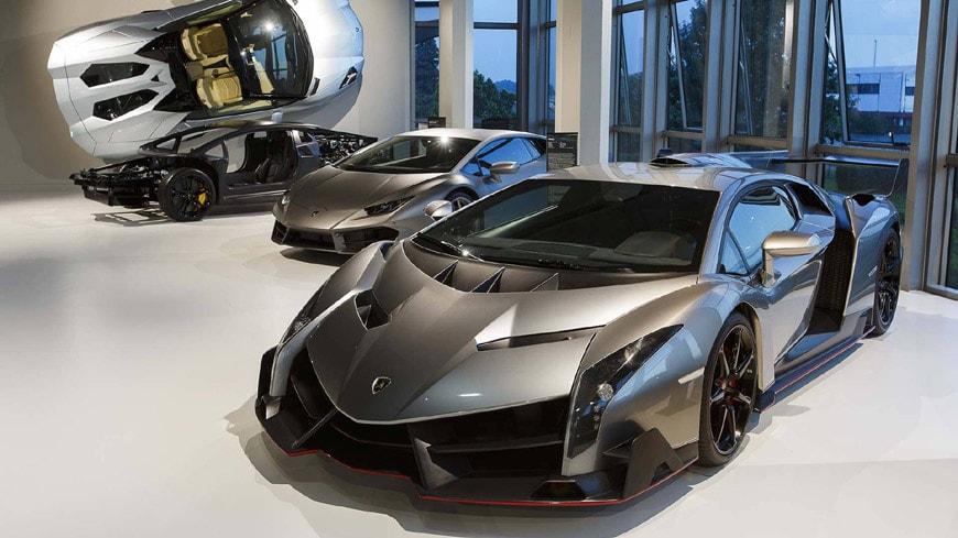 Museo Lamborghini Sant'Agata Bolognese 8