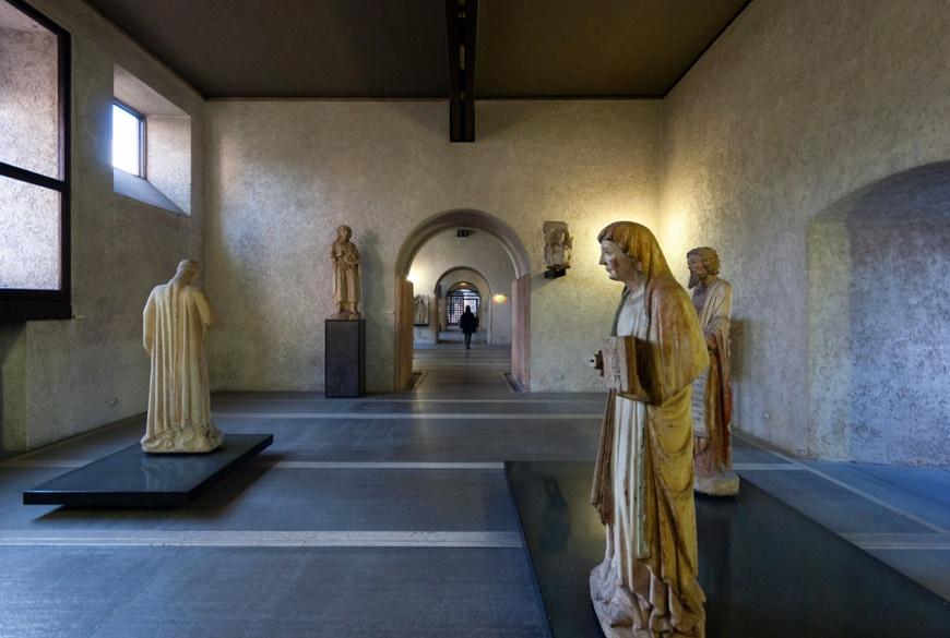 Castelvecchio Museum Verona interior