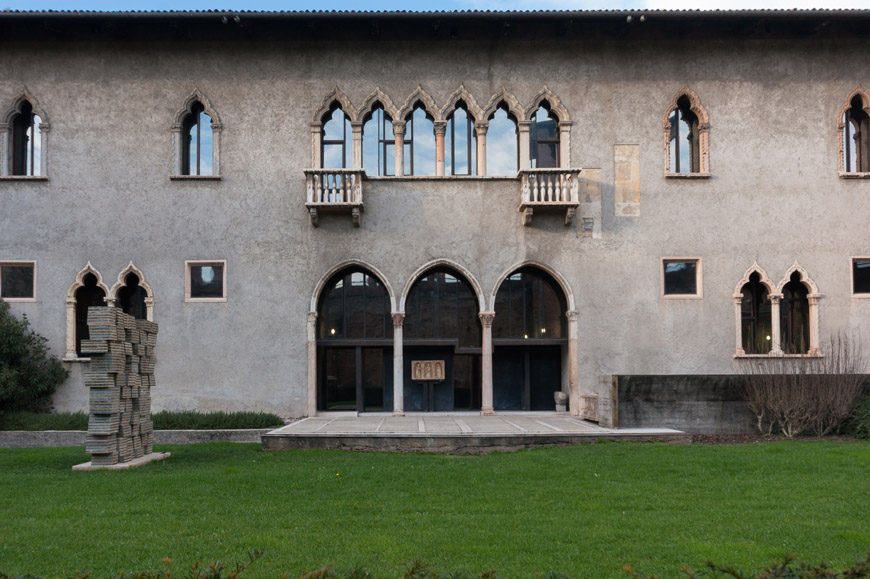 Castelvecchio Museum Verona facade
