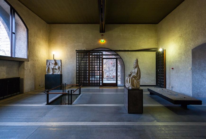 Castelvecchio Museum Verona interior 2