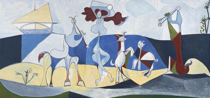Pablo Picasso Joie de Vivre painting Antibes