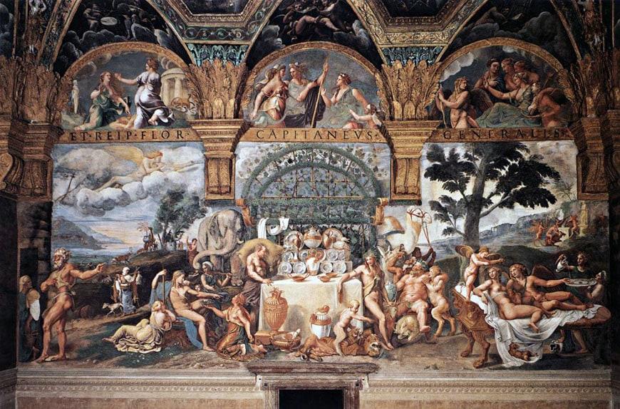Palazzo Te Mantova Giulio Romano 08