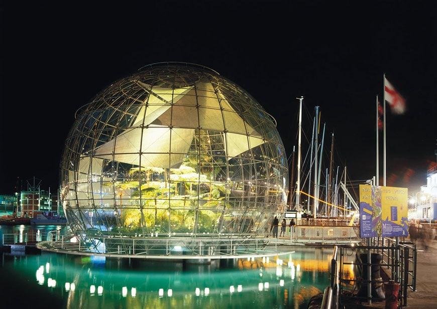 Porto Antico Genova Biosfera Renzo Piano