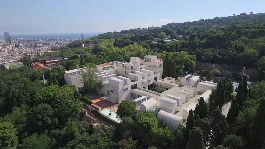 fundacio-Joan-Miro-Barcelona-aerial-view