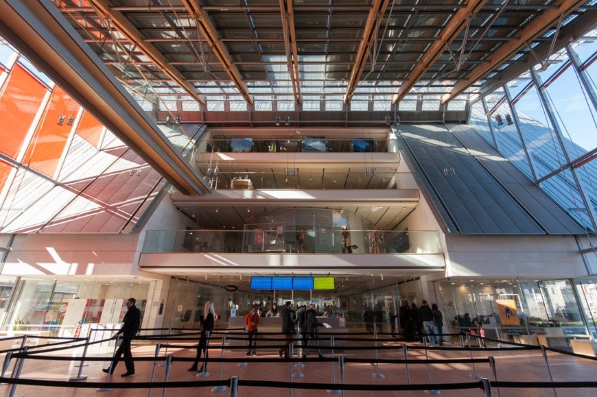 Trento The MUSE Museum By Renzo Piano