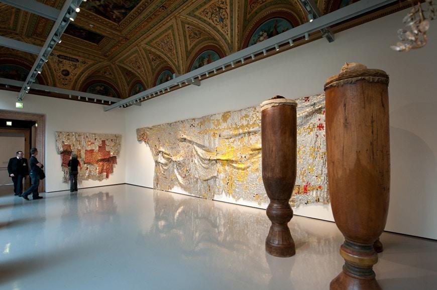 David Hammons El Anatsu Palazzo Grassi Venice