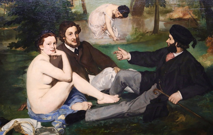 Edouard Manet Luncheon on the Grass Musée d'Orsay Paris