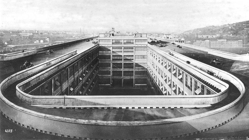 FIAT Lingotto factory Turin Matte Trucco