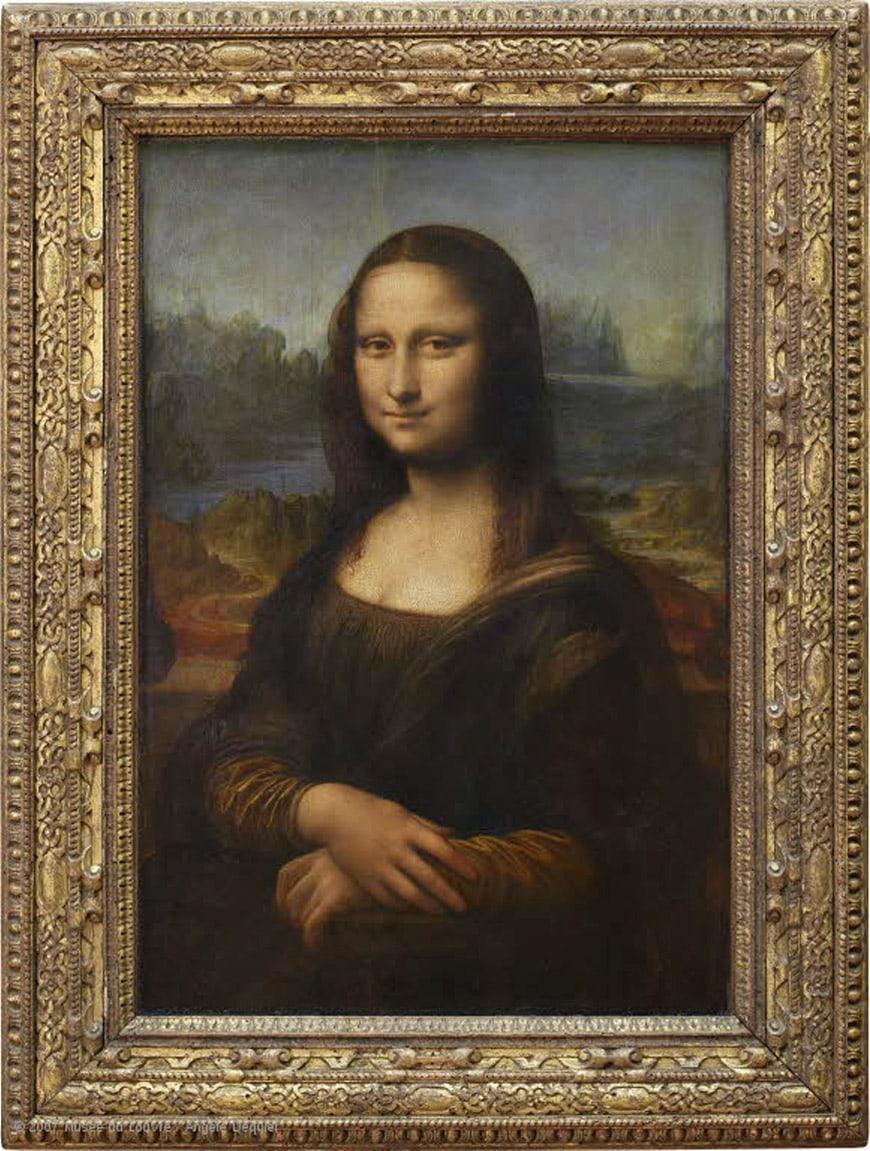 Mona Lisa Leonardo da Vinci Louvre Paris