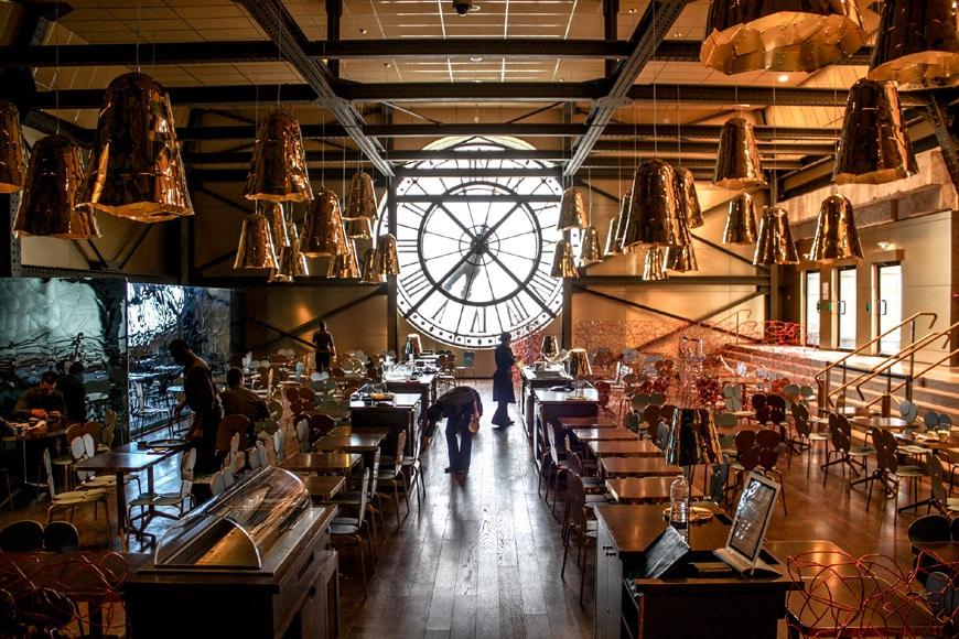 Musée d'Orsay Paris Cafe Campana
