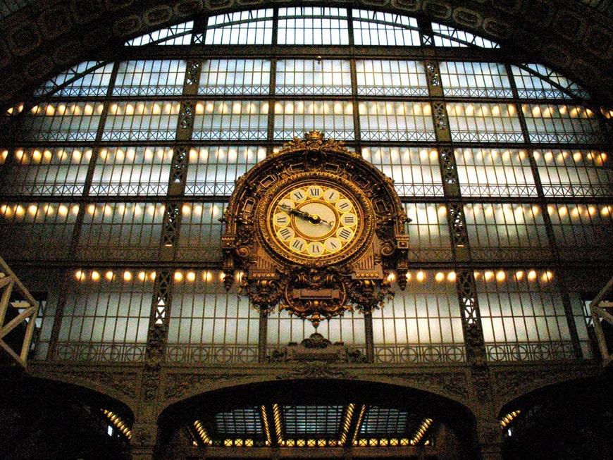 Musée d'Orsay Paris clock