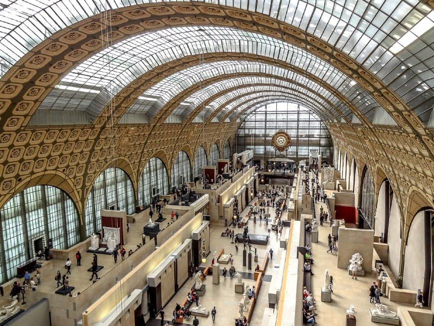 Musée d'Orsay Paris hall