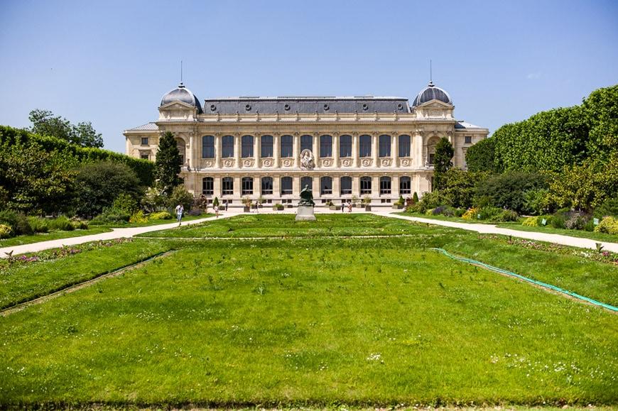 Museo di Storia Naturale di Parigi Jardin des Plantes Grande GAlleria Evoluzione