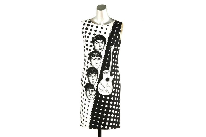 Museum of London The Beatles dress